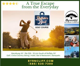 Byrncliff Golf Resort Voted Buffalo's Best Golf Course