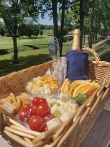 wine and cheese package at Byrncliff