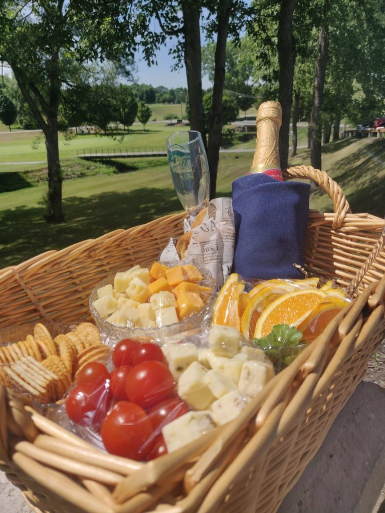 The Wine and Cheese Package add on to Byrncliff Stay and Play Golf Package