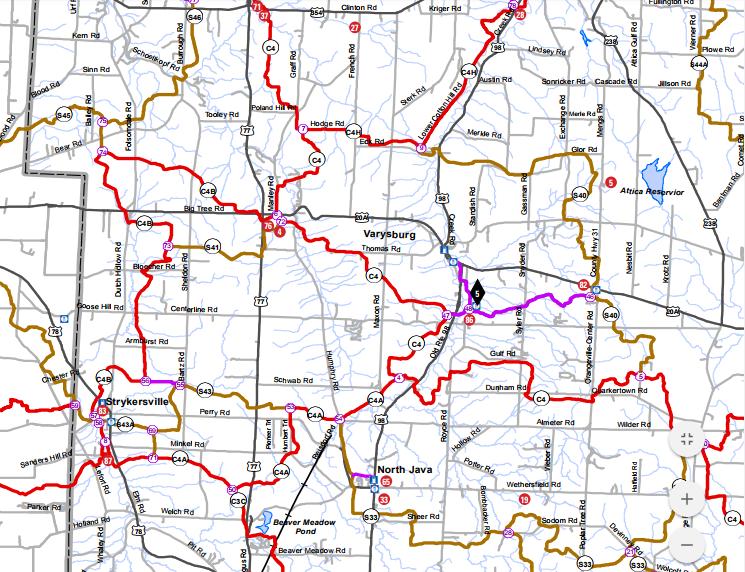 Snowmobile maps near Buffalo - BYRNCLIFF