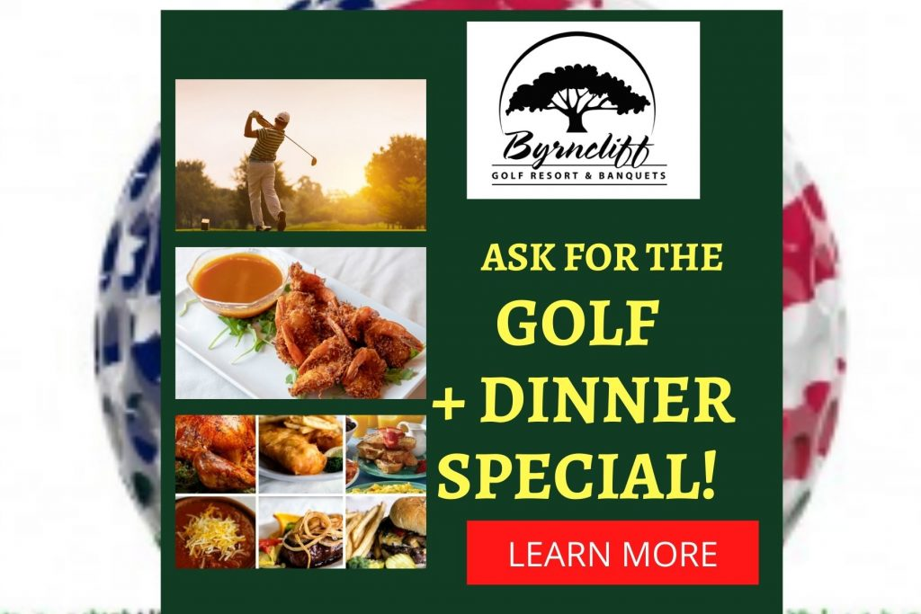Byrncliff Golf and Dinner Special